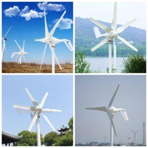 Ветрогенератори, Вятърни турбини