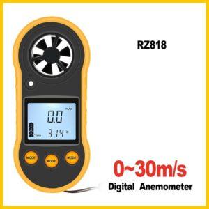 Анемометър - измерва скоростта на вятъра
