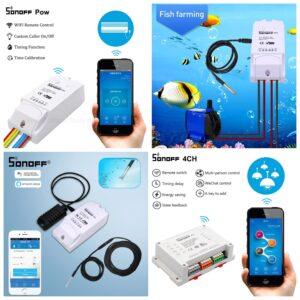 Smart Home , Умен Дом - Следене през Wifi управление на температура контакти и др