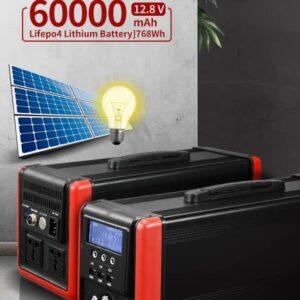 Енергийна станция 5в1 ЕНЕРГОН - Инвертор 1000w 60ah lifepo4 акумулатор