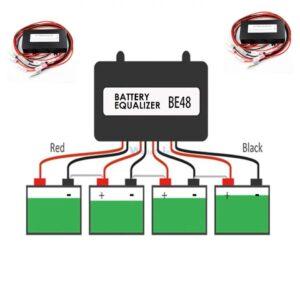 Акумулаторен балансьор (изравнител) 48V за оловни, тягови AGM 12v